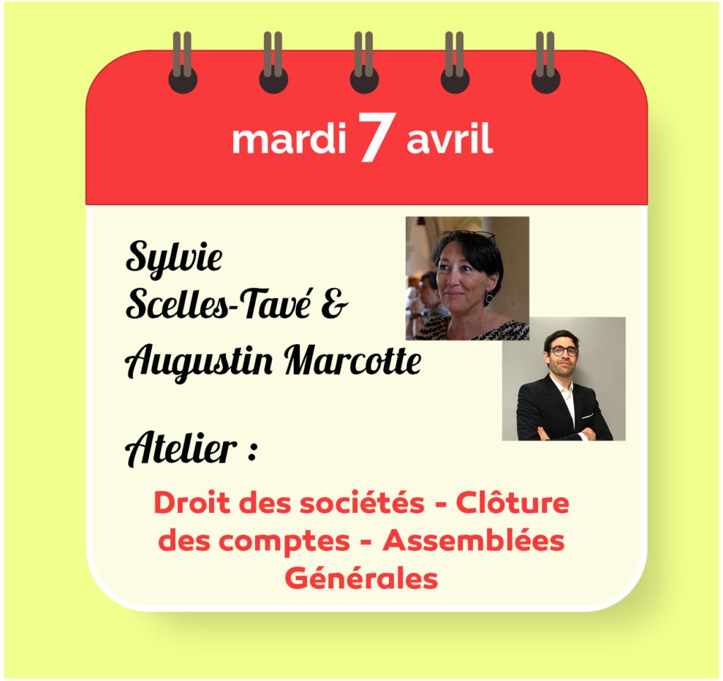 Sylvie Scelles-Tavé & Augustin Marcote de Quivières