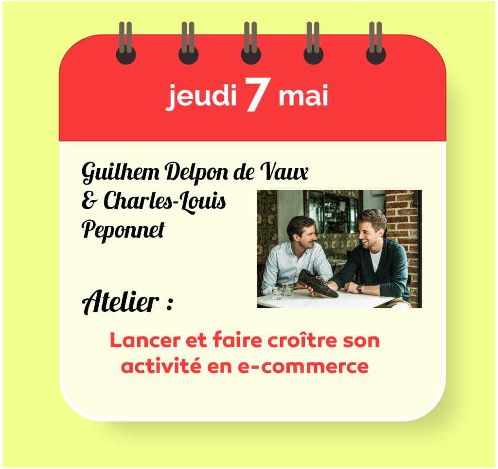 Guilhem Delpons de Vaux & Charles-Louis Peponnet