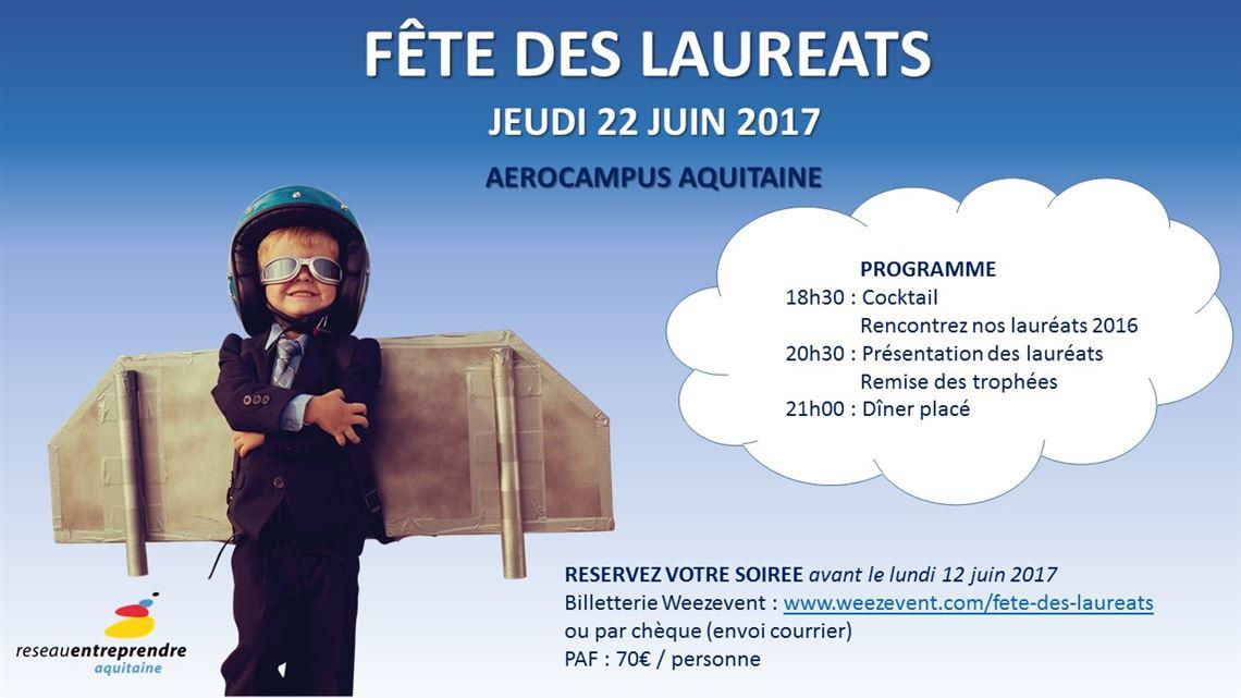 F te des laur ats 2017 save the date r seau - Date fete des voisins 2017 ...