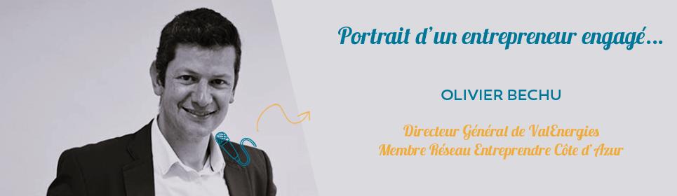 Photo d'Olivier Béchu membre de Réseau Entreprendre Côte d'Azur et directeur général de ValEnergies