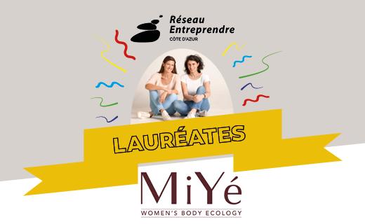 Anna et Caroline, lauréates de réseau entreprendre Côte d'Azur