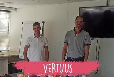 Jean-Marie Caoudal et Benjamin Colas, lauréats 2019