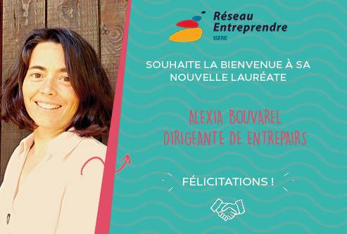 Alexia Bouvarel, lauréate 2020