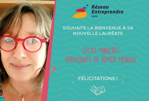 Cécile Mancret, lauréate 2020