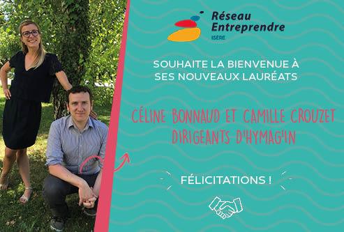 Céline Bonnaud et Camille Crouzet, lauréats 2020