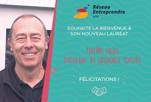 Thierry Fagès, lauréat 2020