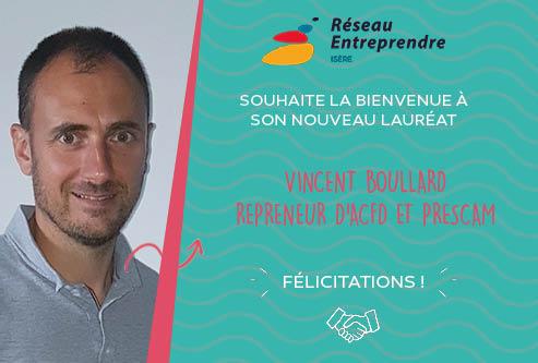 Vincent Boullard, lauréat 2020