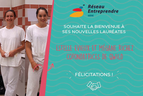 Estelle Evieux et Mégane Richez, lauréates 2020