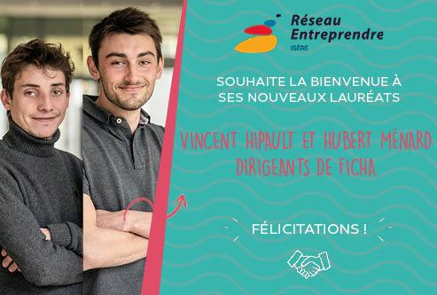 Vincent Hipault et Hubert Ménard, lauréats 2020