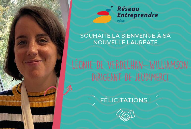Léonie de Verdelhan-Williamson, lauréate 2020