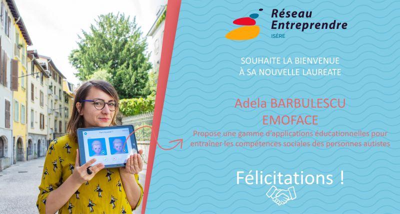 Adela Barbulescu, lauréate 2020