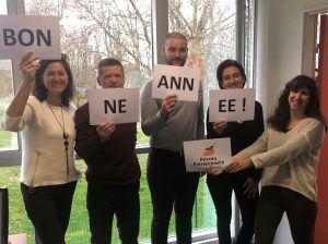 Toute l'équipe de Réseau Entreprendre Occitanie Garonne vous souhaite ses meilleurs vœux !
