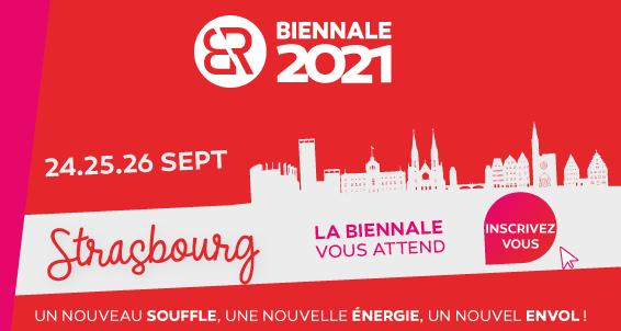 Biennale 2021 à Strasbourg !