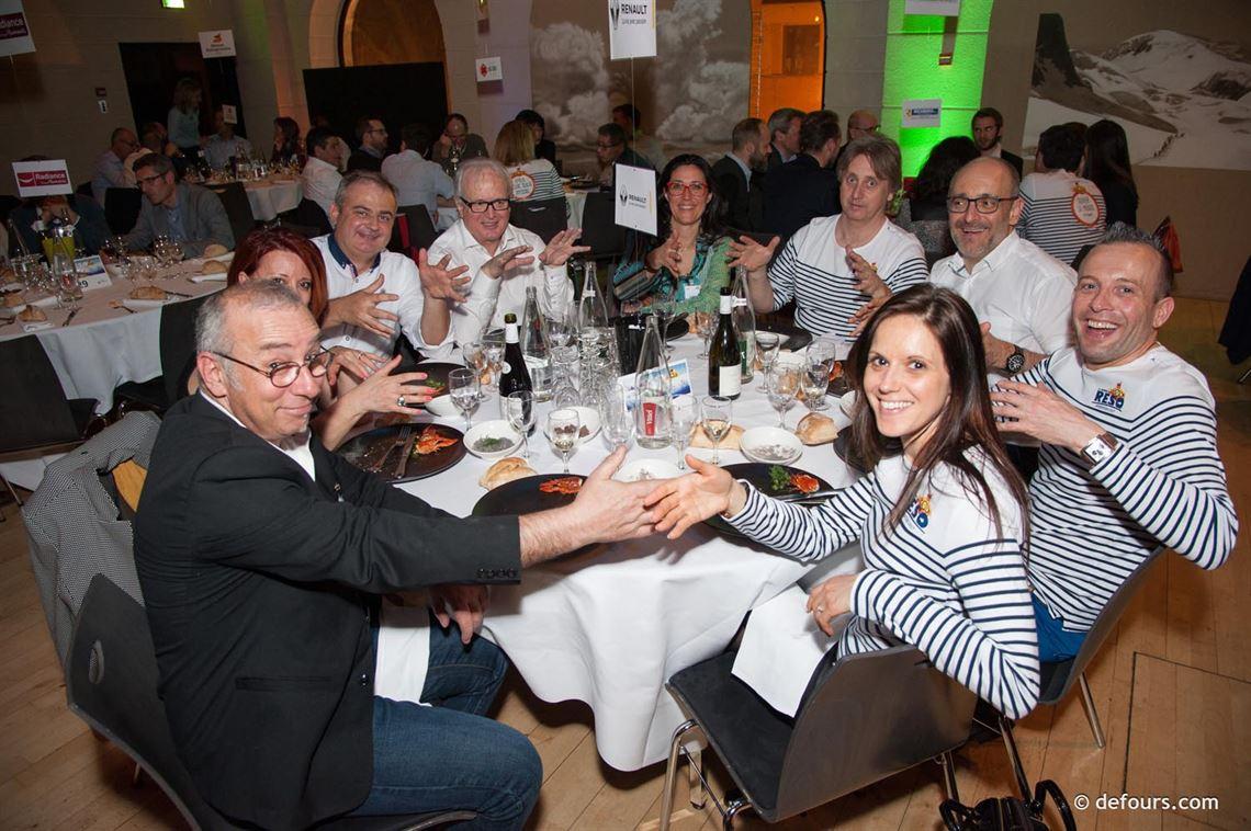 5 avril 2018, Chambéry : soirée Réseau Entreprendre Savoie au Manège