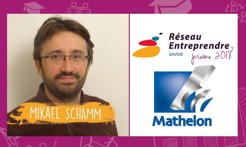 Mikael SCHAMM, lauréat RES 2018