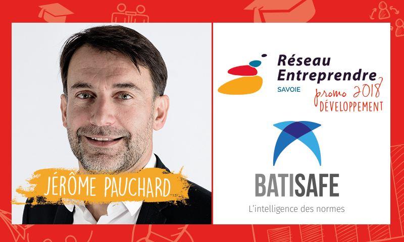 Jérôme PAUCHARD, lauréat 2018 développement