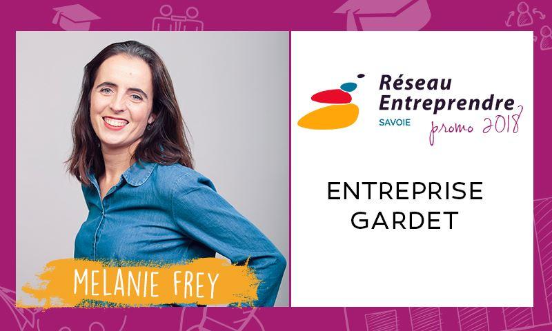 Mélanie FREY, lauréate RES 2018