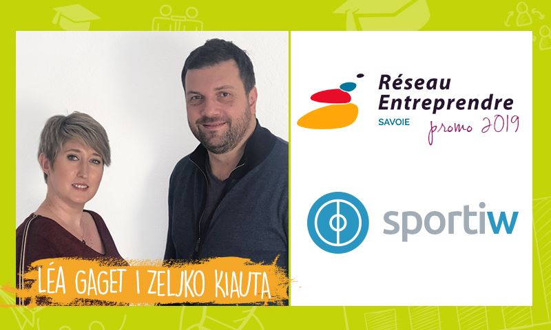 Léa et Zeljko créent SPORTIW