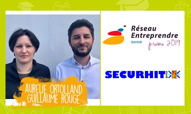 Aurélie et Guillaume, lauréats RES 2019