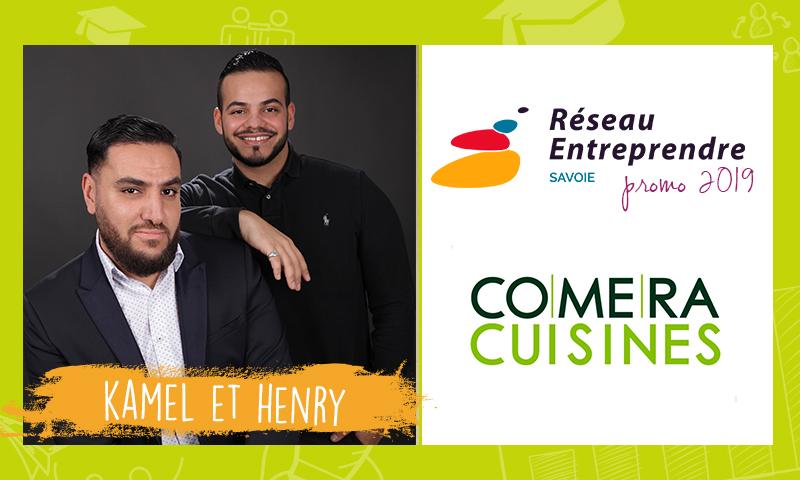 Kamel et Henry, lauréats RES 2019