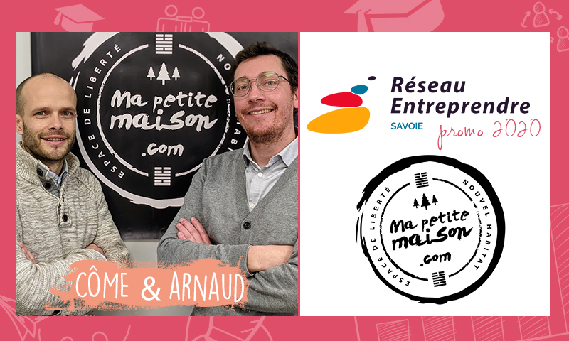 Arnaud et Côme, lauréats RES 2020