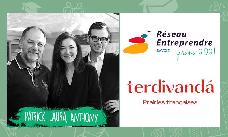 Patrick, Laura et Anthony, lauréats RES 2021