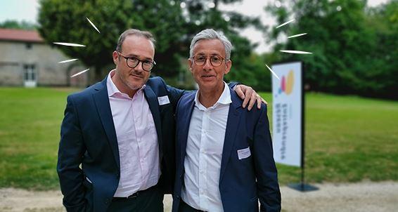Nicolas Dubois et Eric Delhommeau